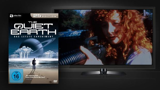 The Quiet Earth - DVD-Cover und Szenenbild
