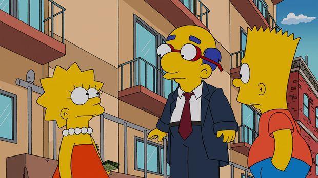 Bart blödelt mit Epoxidharz herum und versaut Milhouse die Haare, dass er sie...