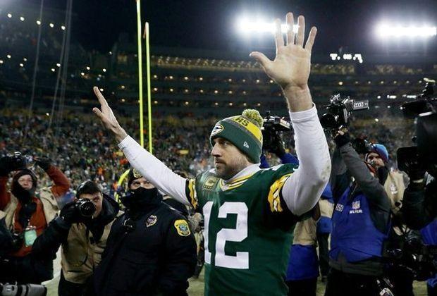 Rodgers von den Packers wird live zu sehen sein