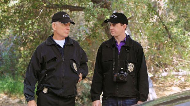 Ein neuer Fall beschäftigt Gibbs (Mark Harmon, l.) und McGee (Sean Murray, r....