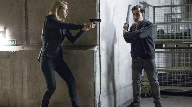 Kann Carrie (Claire Danes, l.) den Anschlag der Terroristen mit Sarin Gas im...