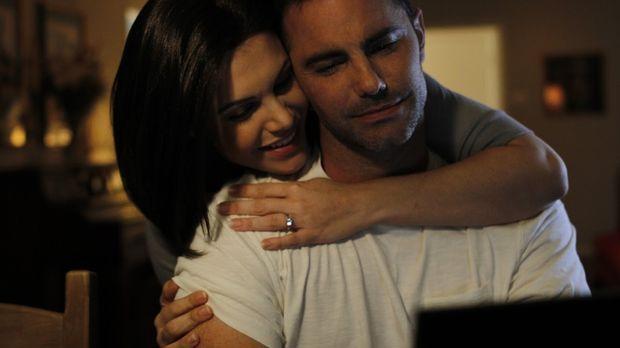 Das Glück scheint perfekt: Laci berichtet Ehemann Scott Peterson von ihrer Sc...