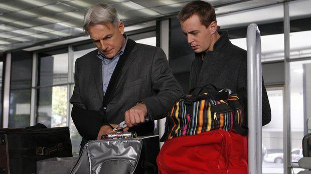 Ein neuer Fall wartet auf Gibbs (Mark Harmon, l.), McGee (Sean Murray, r.) un...