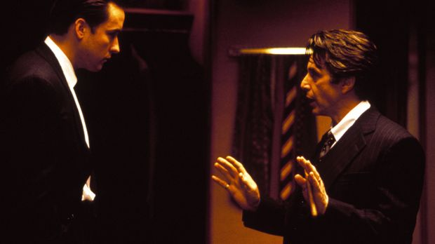 Bürgermeister John Pappas (Al Pacino, r.) ist das Idol seines Assistenten Kev...