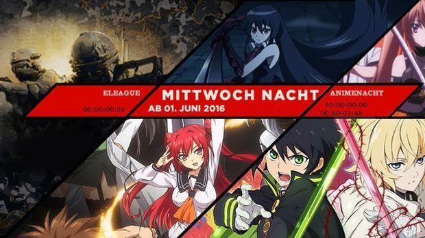Animenacht und Eleague