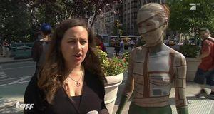 Taff - Bodypainting Auf New Yorks Straßen