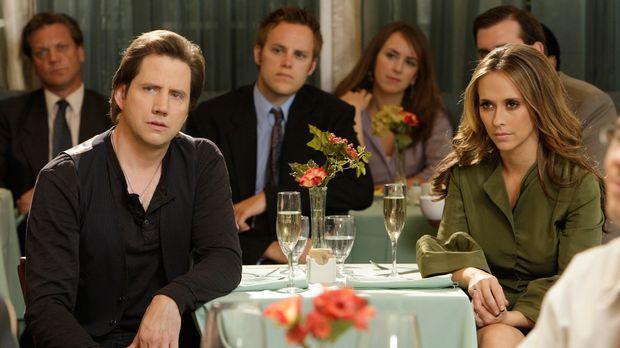 Können Melinda (Jennifer Love Hewitt, r.) und Eli (Jamie Kennedy, l.) dafür s...