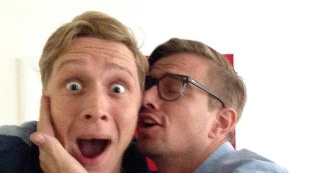 Matthias Schweighöfer und Joko haben sich lieb