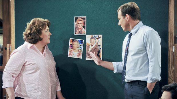 Eine neue Situation wartet auf Nathan (Will Arnett, r.) und Carol (Margo Mart...