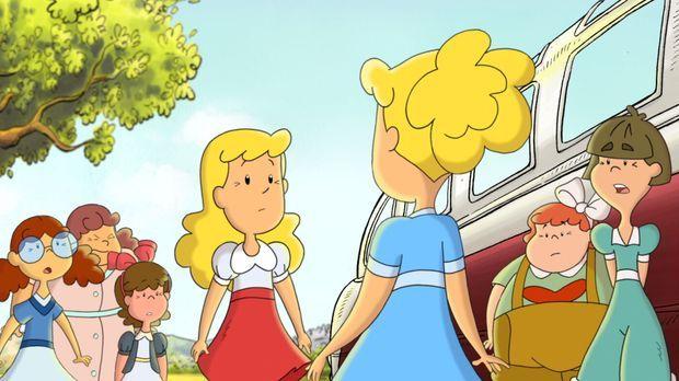 Als sie sich in einem Ferienheim plötzlich gegenüberstehen, ahnen Lotte und L...