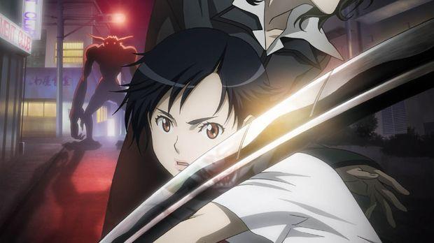 Zunächst wirkt Saya (vorne) wie ein ganz normales Mädchen. Doch als Monster i...