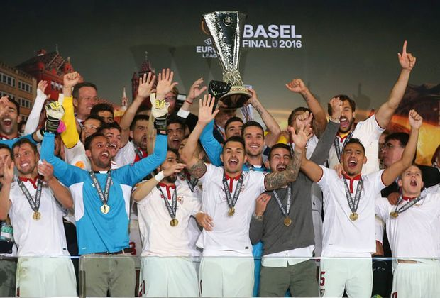 Europa--League-Sieger 2016: FC Sevilla