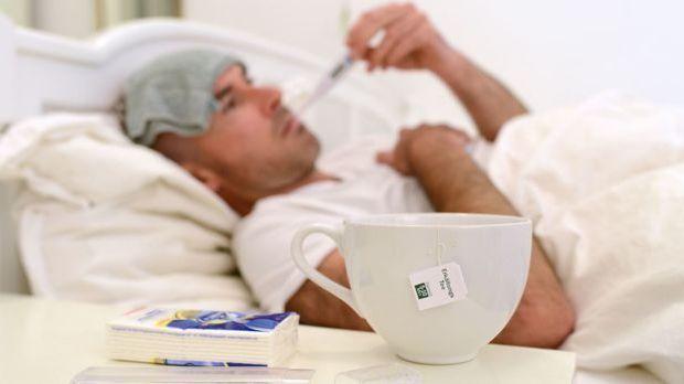 Hat Sie die Grippewelle erst einmal erwischt, hilft nur noch Auskurieren.