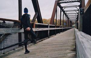 Outdoor-Sportler-Läufer