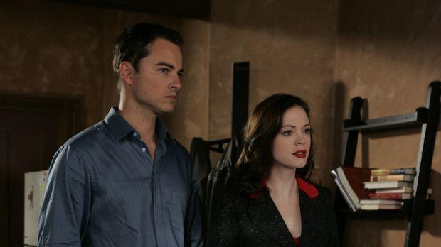 Im Kampf gegen das Böse: Paige (Rose McGowan, r.) und Kyle (Kerr Smith,l.) .....