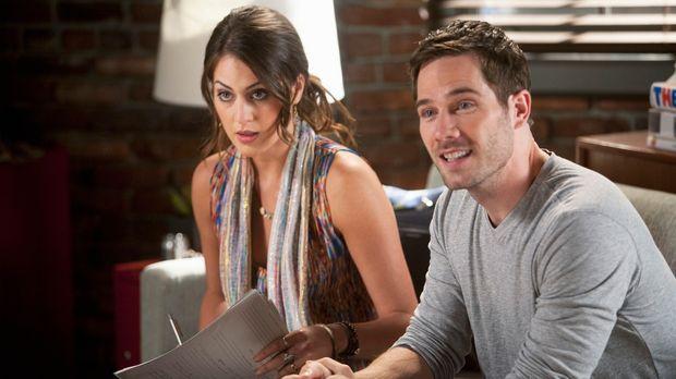 Scotty (Luke Macfarlane, r.) ist froh, auch Kevin von Michelle (Roxy Olin, l....