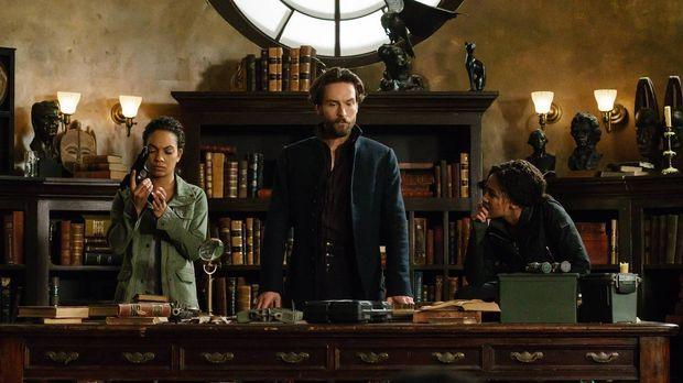 Ihre Mission verläuft anders, als Jenny (Lyndie Greenwood, l.), Crane (Tom Mi...