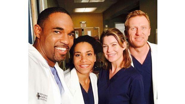 Grey's Anatomy: Die Stars haben Spaß am Set!