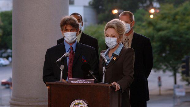 Können die Gefahr nicht mehr herunterspielen: der Bürgermeister von L.A., Ric...