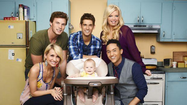 (1. Staffel) - Ben (Jean-Luc Bilodeau, hinten M.) wird plötzlich Vater, als s...