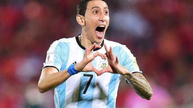 Argentinien-Angel-Di-Maria-160325-AFP © AFP