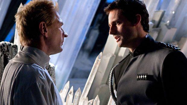 Clarks Bemühungen waren umsonst: Zod (Callum Blue, r.) findet seinen Vater Jo...