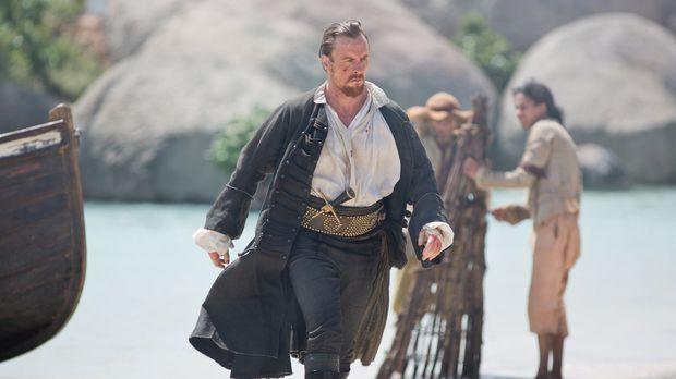 Verzweifelt sucht Captain Flint (Toby Stephens) nach dem Dieb der fehlenden B...