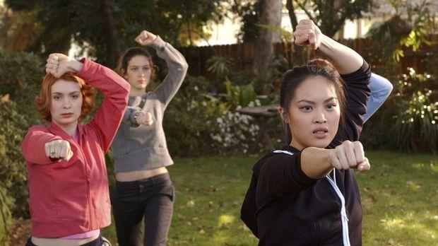 Training für den Kampf gegen das allmächtige Böse: die Nachwuchs-Slayerinnen...