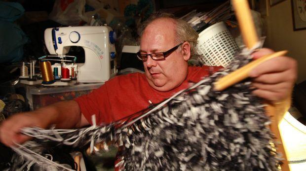 Messie! Mein Leben im Chaos - Der 55-jährige Nigel ist seit dem Krebstod sein...