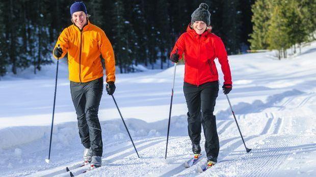 Skilanglauf ist ein optimales Cardio-Training.