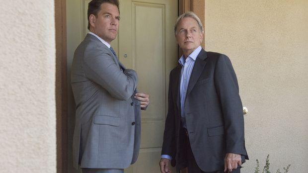 Ein neuer Fall wartet auf DiNozzo (Michael Weatherly, l.) und Gibbs (Mark Har...
