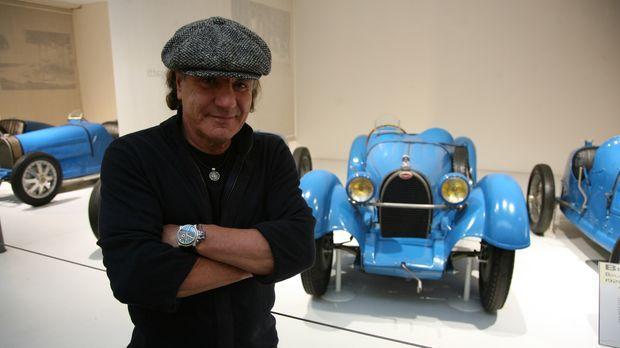 Das Herz von AC/DC-Frontmann Brian Johnson schlägt nicht nur für Hard Rock, s...
