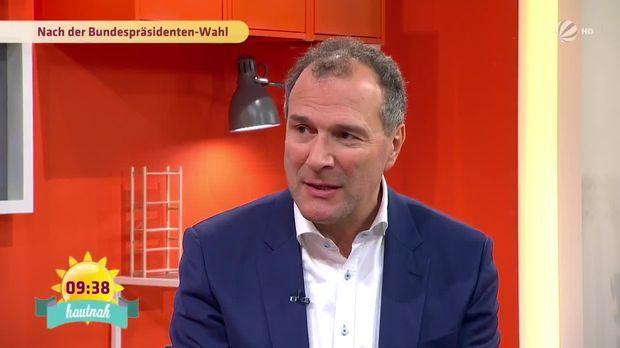 Talk: Alexander Hold nach der Bundespräsidenten-Wahl