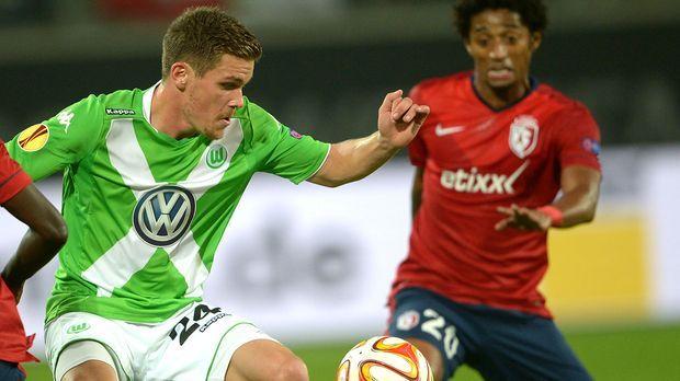 Wolfsburg - Lille 1 © dpa