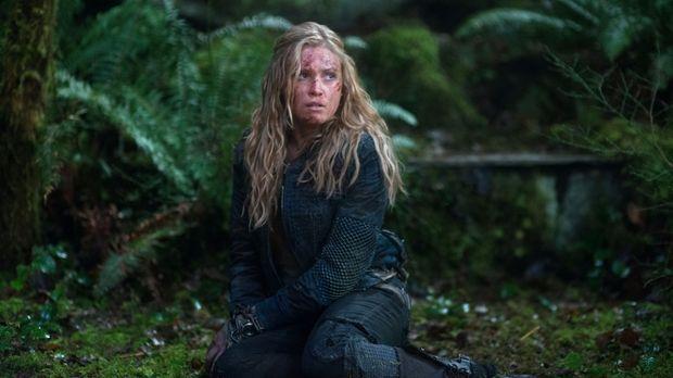 Noch ahnt Clarke (Eliza Taylor) nicht, wem sie noch begegnen wird ... © Warne...