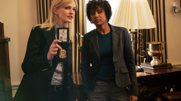 Auf der Suche nach der Wahrheit: Det. Lilly Rush (Kathryn Morris, l.) und Kat...