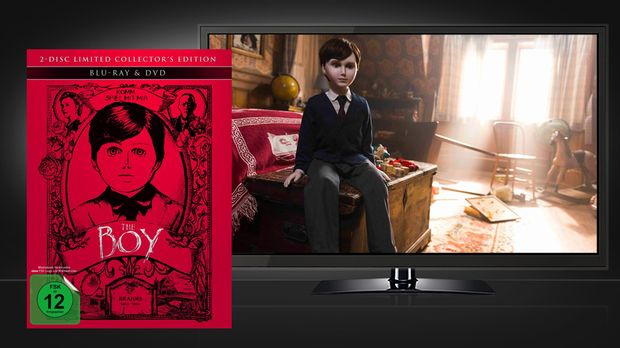 The Boy - Blu-ray und DVD mit Szenenbild - Capelight Pictures © Capelight Pic...
