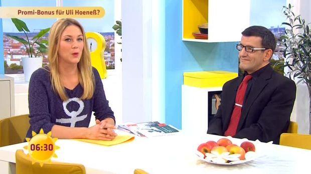 Talk: Bekommt Hoeneß einen Promi-Bonus?