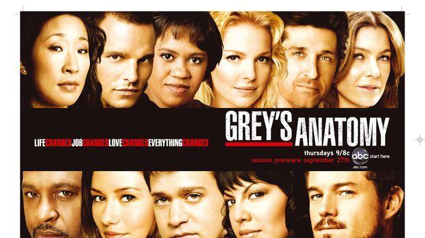 (4. Staffel) - Alles ändert sich: (Oben v.l.n.r.) Dr. Cristina Yang (Sandra O...