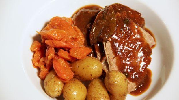 Tafelspitz mit Vichy Karotten
