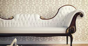Dieses Vintage-Sofa ist modern und Retro zugleich. Andere Einrichtungselement...