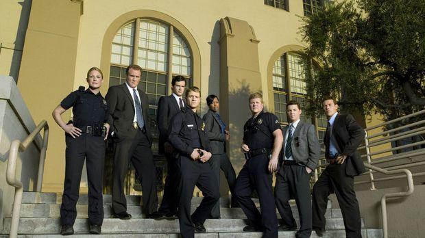 (2. Staffel) - Sorgen in Los Angeles für Recht und Ordnung (v.l.n.r.): Chicki...