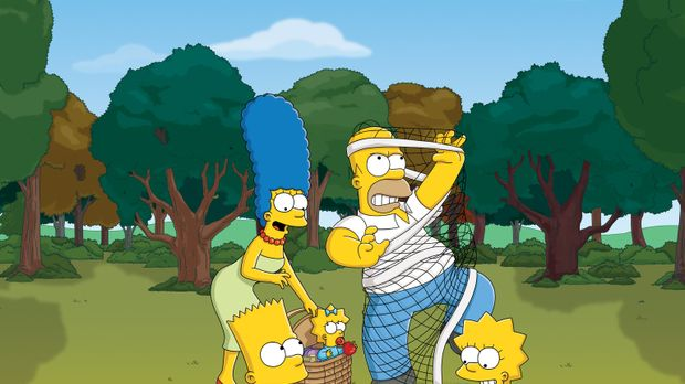 (25. Staffel) - Eine Familie mit ganz besonderem Pfiff: Maggie (M.), Marge (2...