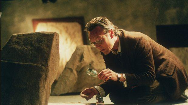 Giles (Anthony Stewart Head) macht eine interessante Entdeckung ... © TM +...