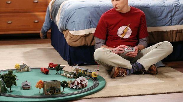 Leonard und Amy müssen Sheldon (Jim Parsons) über die Schmach hinweg trösten,...
