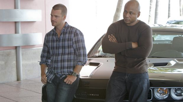 Ermitteln in einem neuen Fall: Callen (Chris O'Donnell, l.) und Sam (LL Cool...