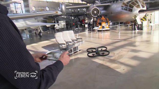 Donnerstag: Männerspielzeug: Drohne