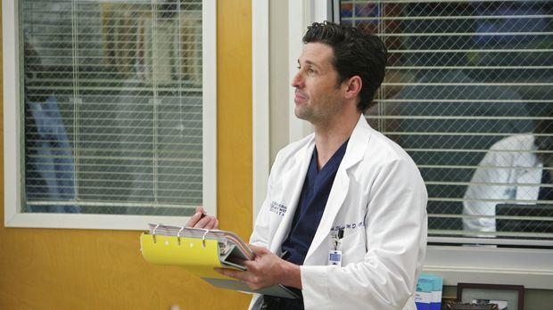 Ahnt, dass Meredith ihm in Bezug auf Webber etwas verschweigt und geht der Sa...