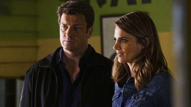 Ermitteln in einem neuen Fall: Castle (Nathan Fillion, l.) und Beckett (Stana...