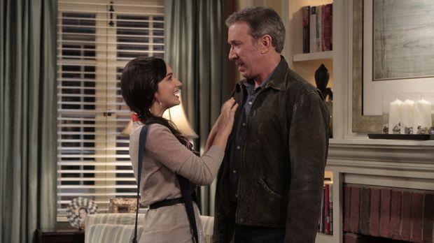 Mike (Tim Allen, r.) ist angetan von Mandys (Molly Ephraim, l.) Idee, eine Ma...